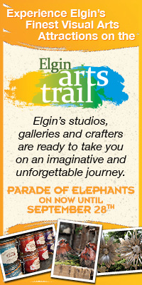 Experience Elgin's Finest Visual Arts Attractions on the Elgin Arts Trail